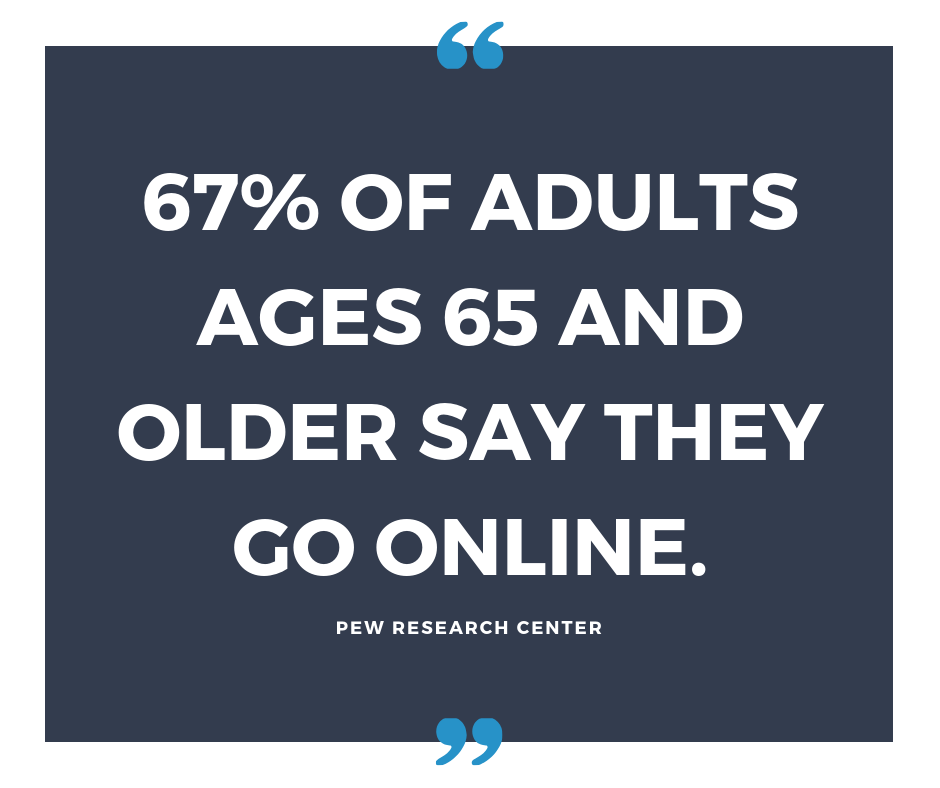 67 of Seniors Go Online