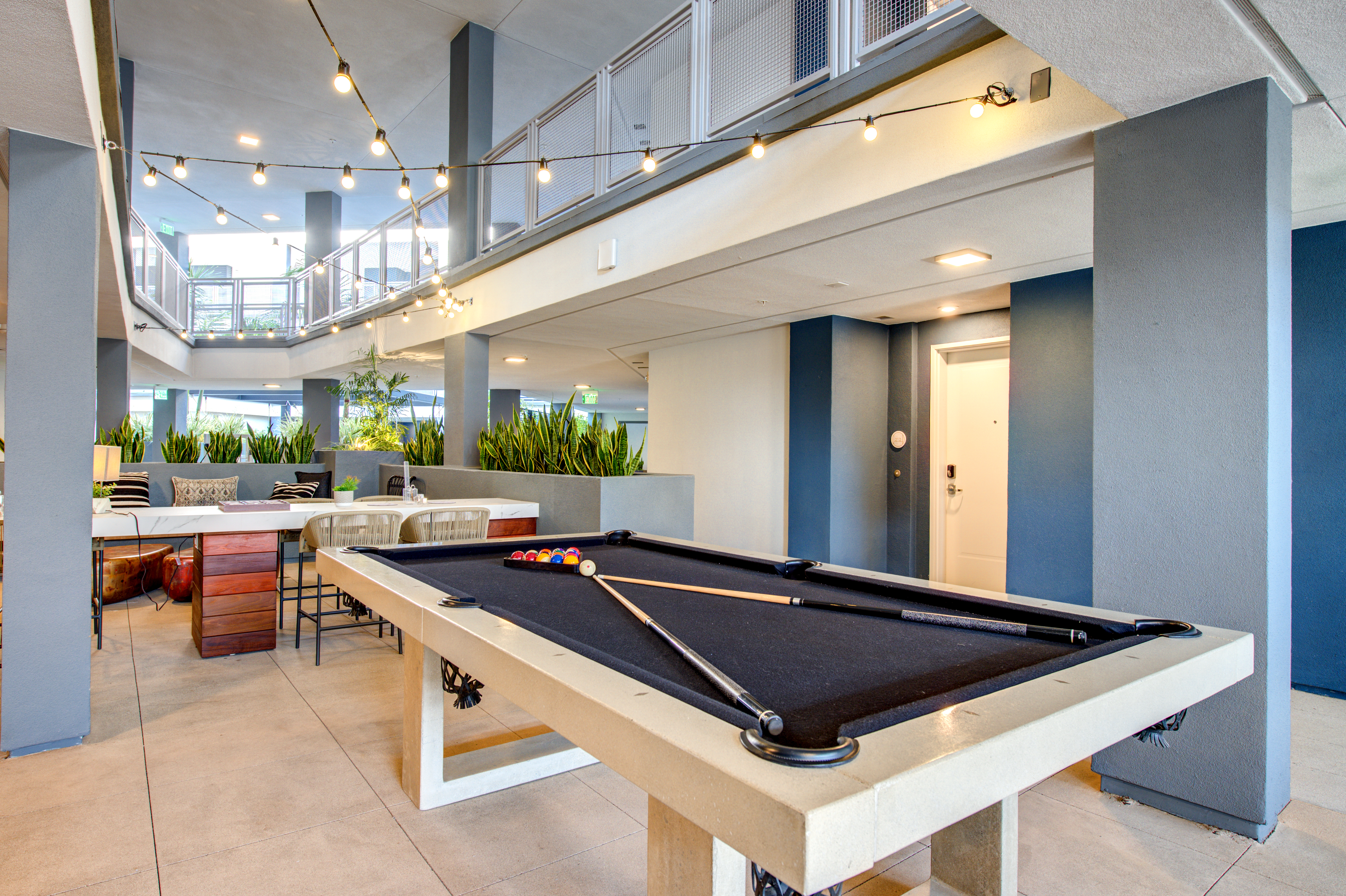 Multifamily Interior Clubhouse Still