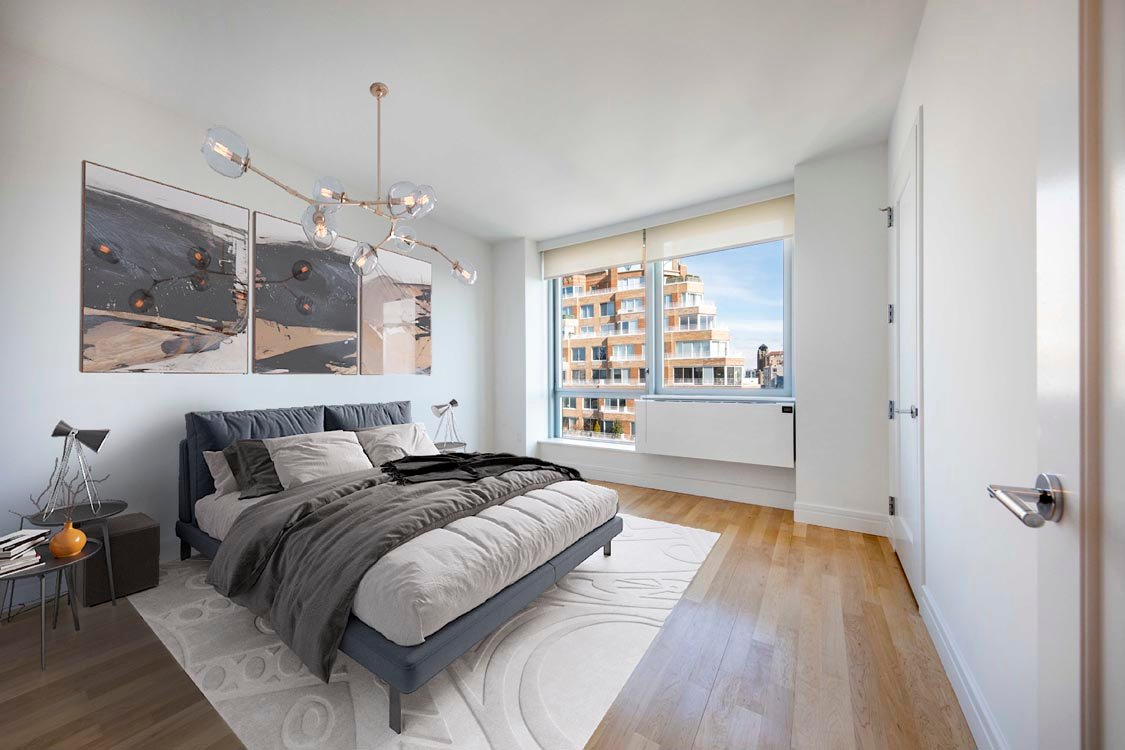 Virtual Staging Example of Bedroom