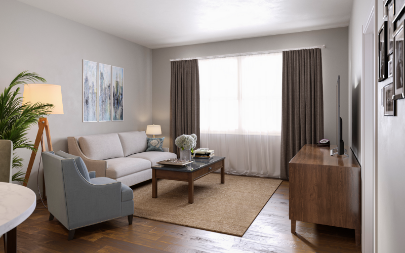 3D Interior - Senior Living