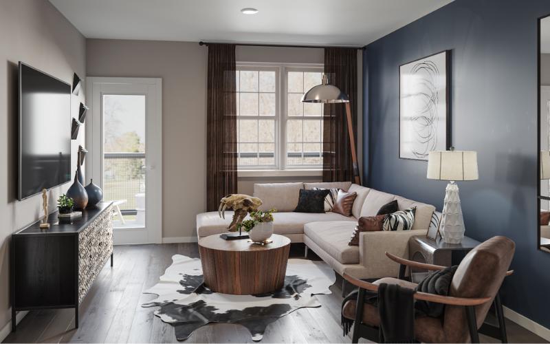 3D Interior - Living Room