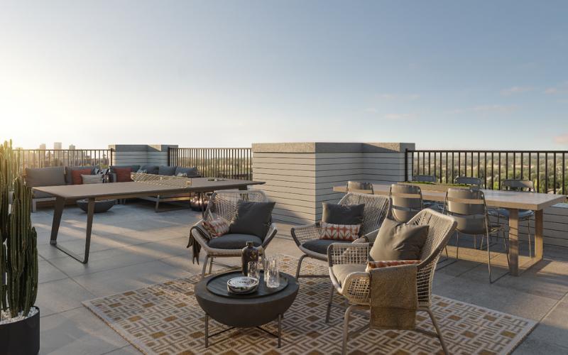 3D Interior - Rooftop