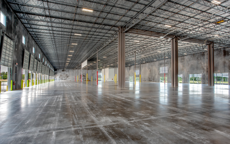 Storage Warehouse Virtual Staging - Before