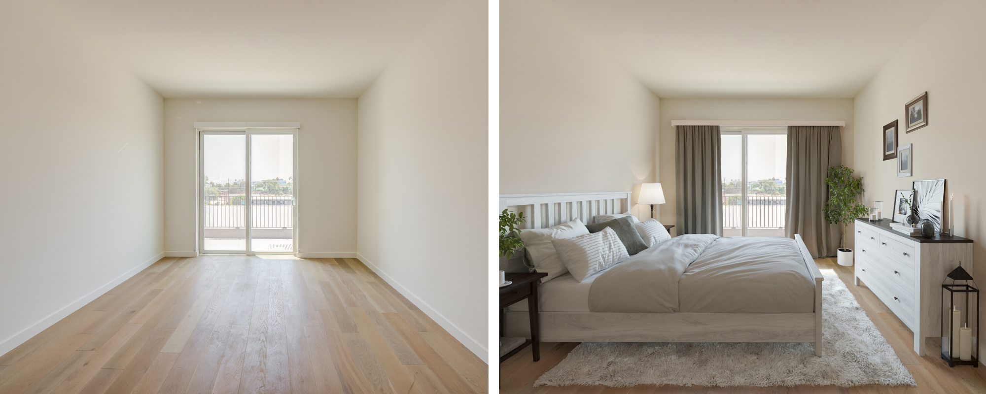 Virtual Staging - Guest Bedroom
