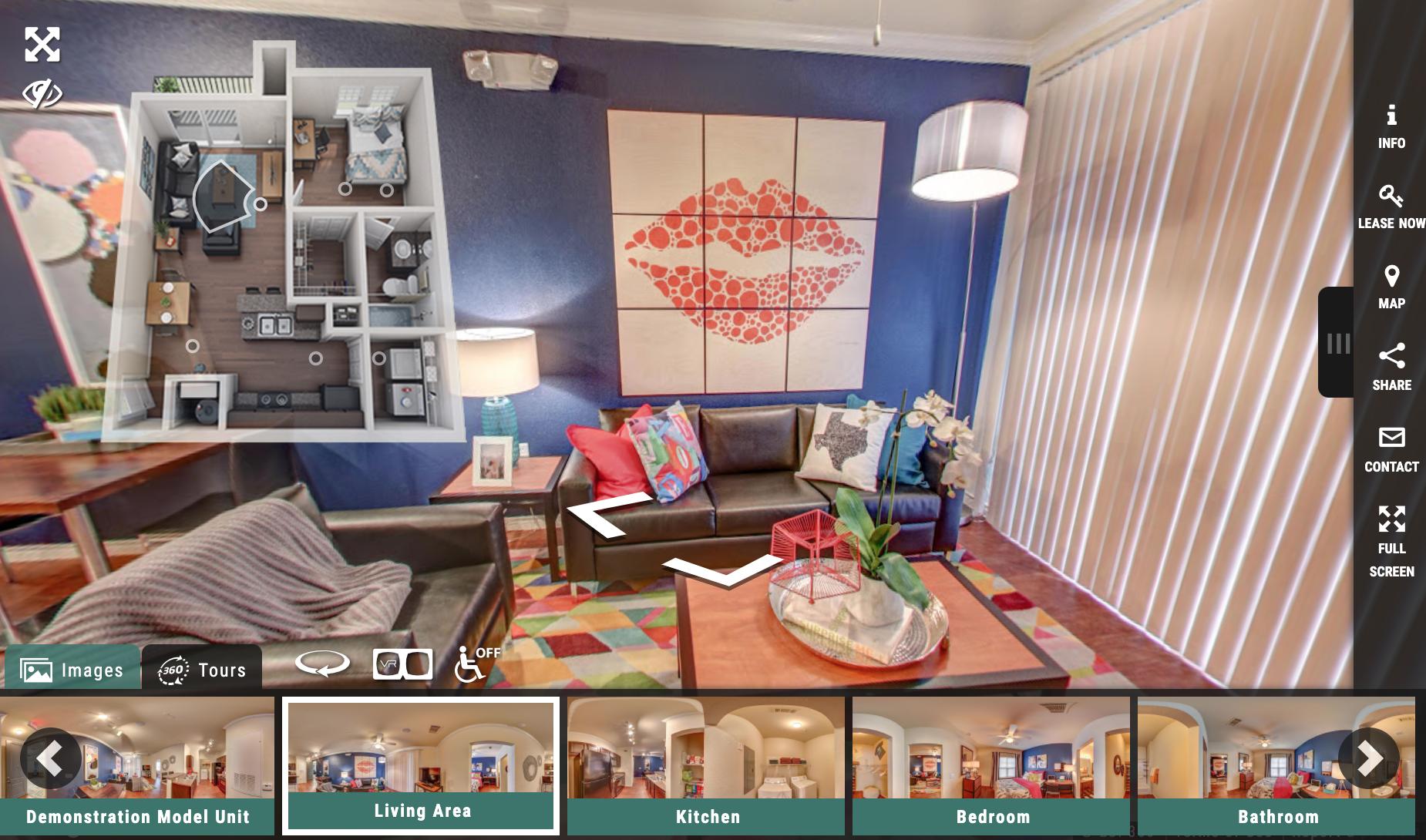Student Housing Virtual Tour - Model Unit