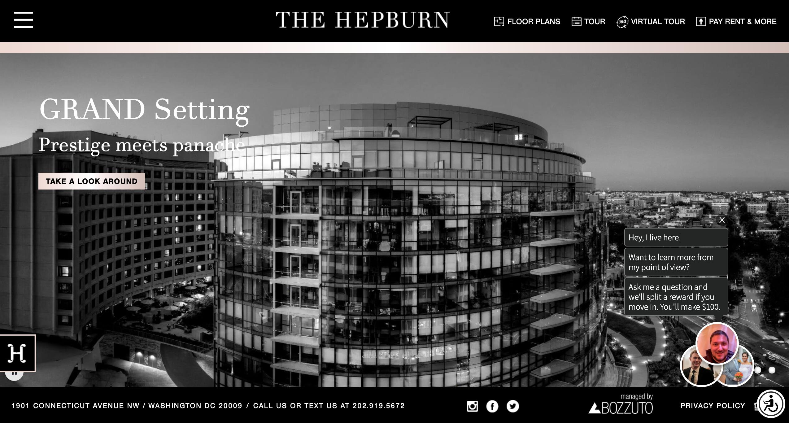 The Hepburn Virtual Tour