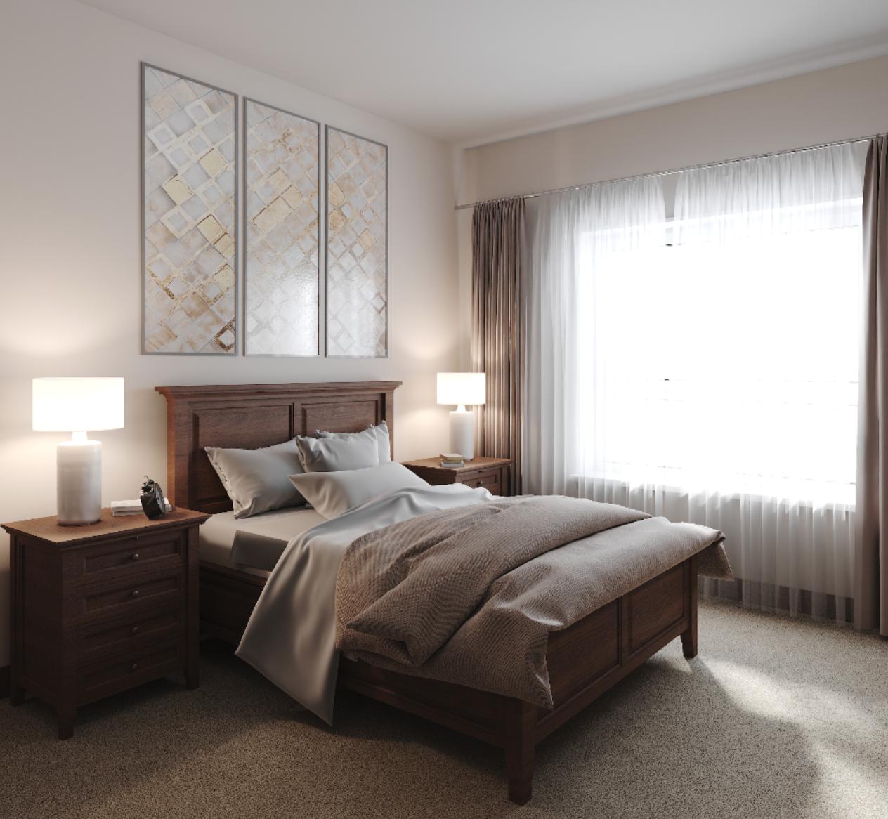 Seven Hills Senior Living - Bedroom
