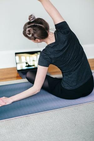 At home virtual workout