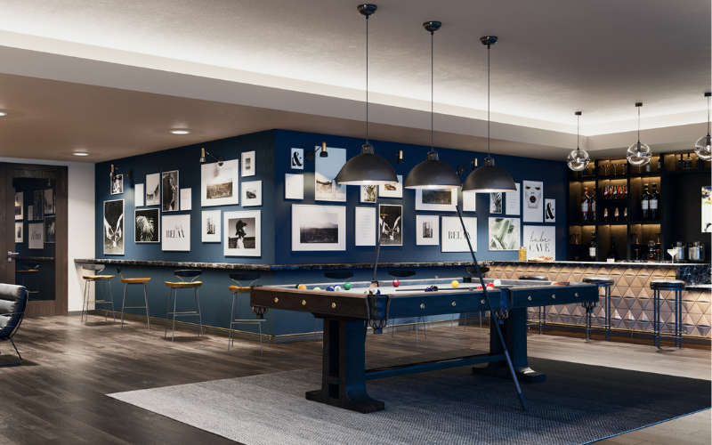 3D Interior - Clubhouse