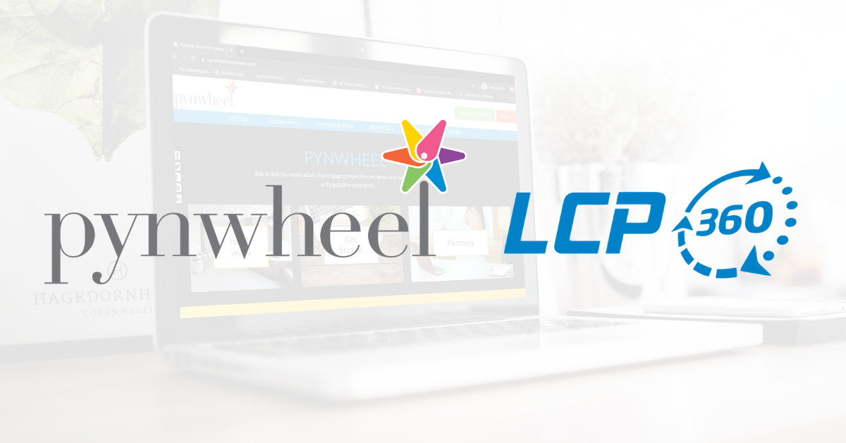 LCP360 Announces Partnership with Pynwheel to Bring Digital Media to On-Site Leasing Solutions